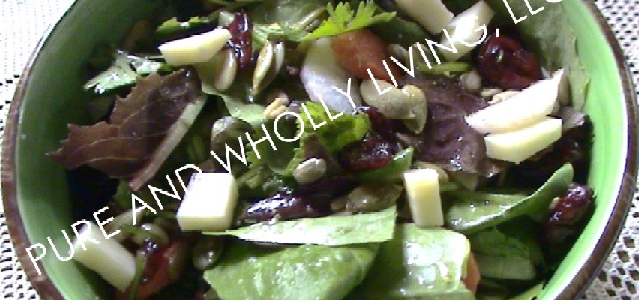 5-Minute Tossed Green Salad