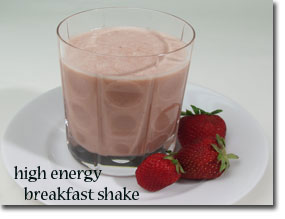High Energy Breakfast Shake